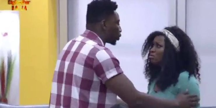 BBNaija 2019 Day 9: Thelma And Esther Fight After Clash of Words (Video)