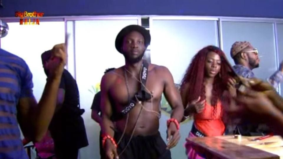 BBNaija 2019 Day 20 Saturday Night Party : Mercy And Tuoyo Tear Up The Floor
