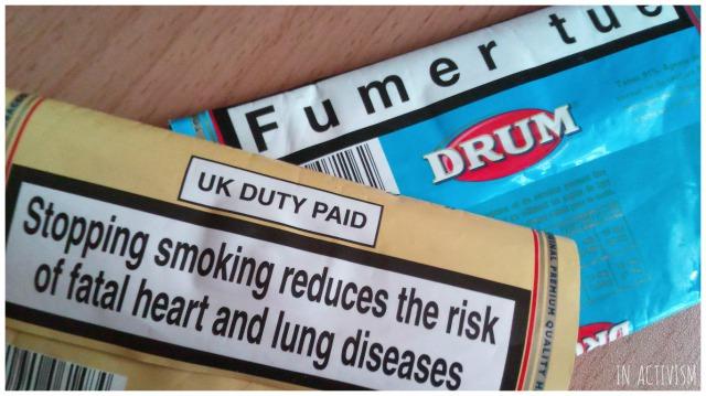 海外のタバコのパッケージ