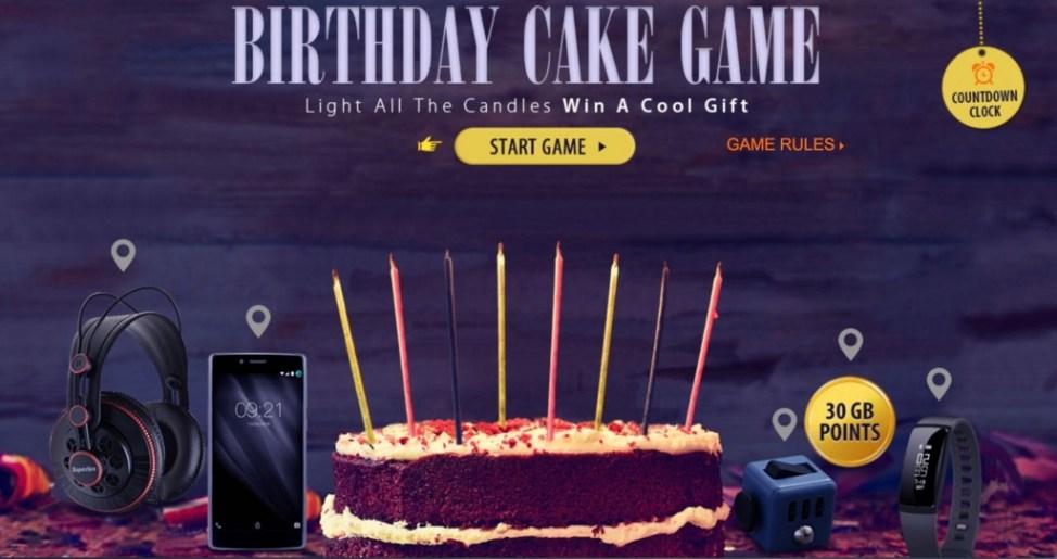 バースデイケーキゲーム(Birthday Cake Game)