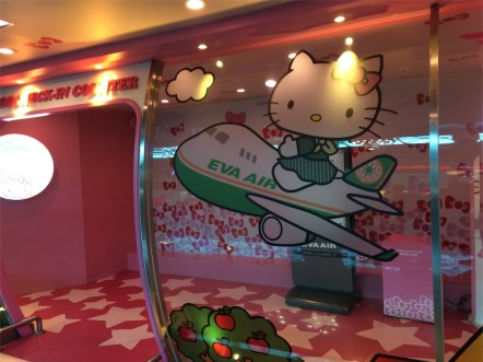 キティ 飛行機 台北