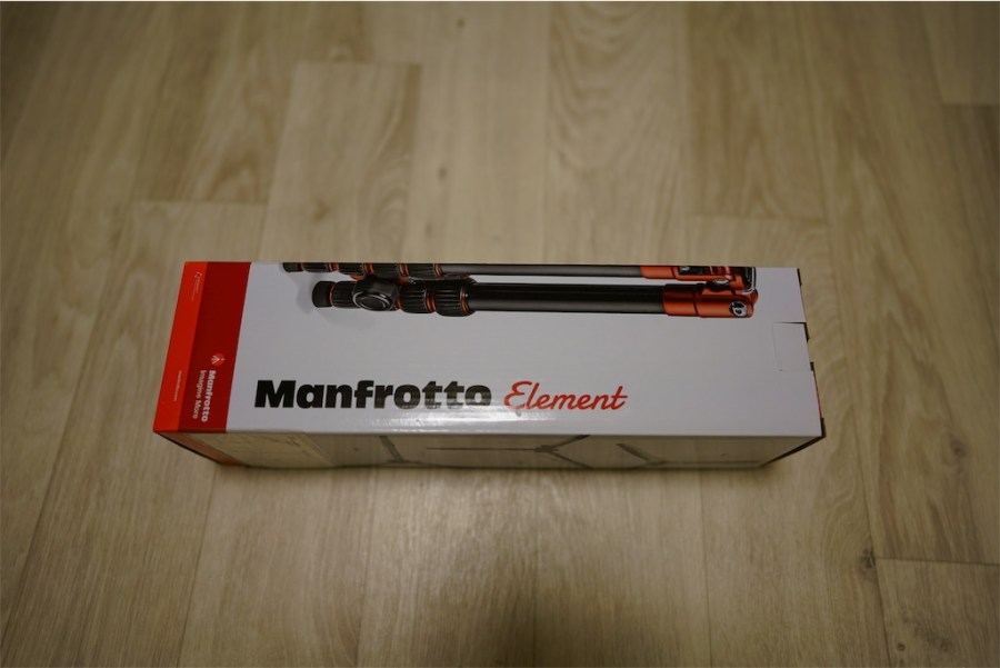 ManfrottoElementスモール 箱