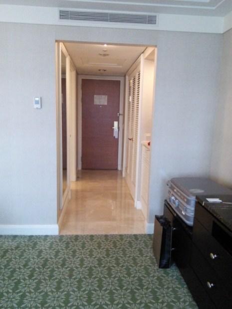 JWマリオットホテル・ソウルの客室入り口