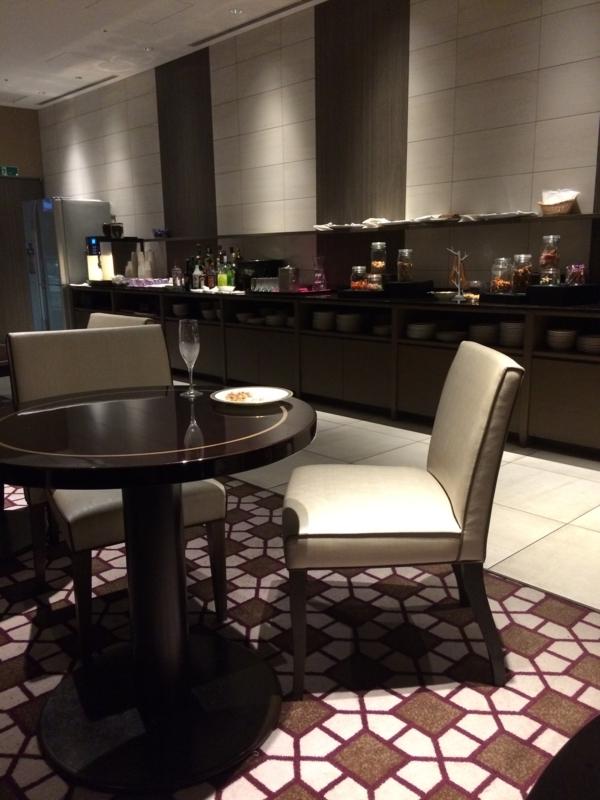 東京マリオットホテルのエグゼクティブ・ラウンジ3