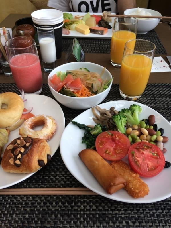 東京マリオットホテルのラウンジ&ダイニングGの朝食