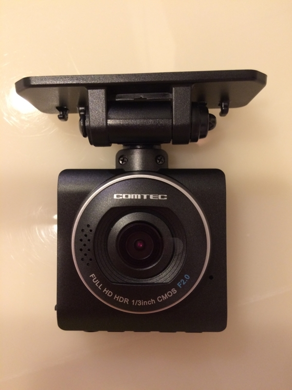 ドライブレコーダー コムテック ZDR-012カメラ側