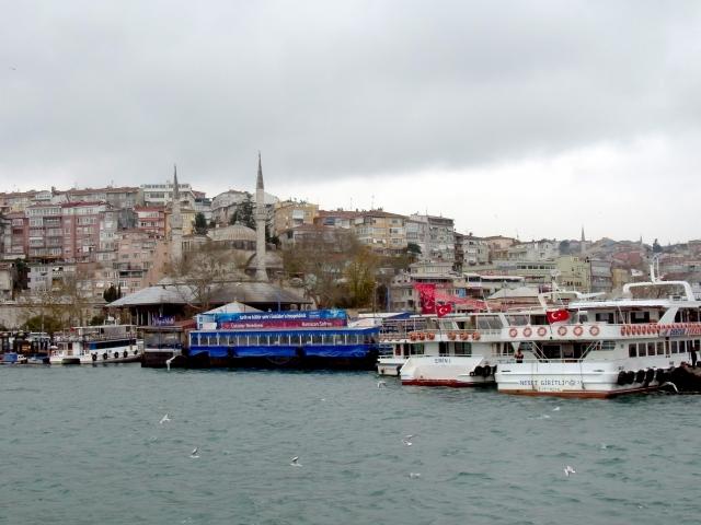 イスタンブールの港町