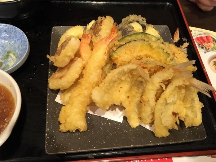 天ぷら食べ放題 おかわり