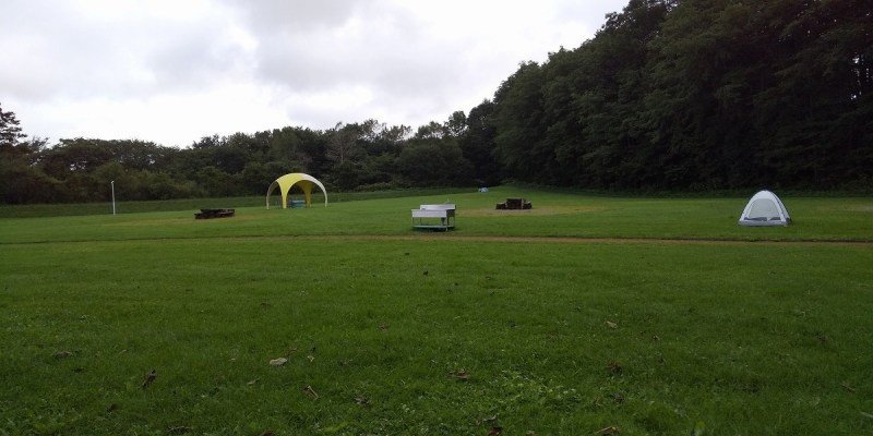 上士幌町航空公園キャンプ場