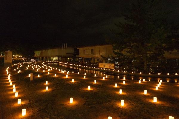 なら燈花会|奈良国立博物館前