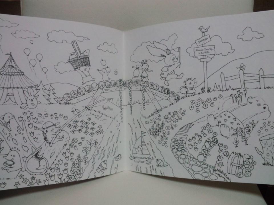 大人の塗り絵本『 book どうぶつたちのfantasy season 』 - 塗り絵日記