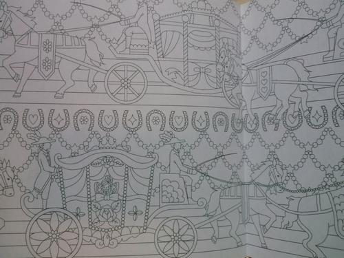 お姫さまとファンタジー&ロマンティックドリーム - 塗り絵日記