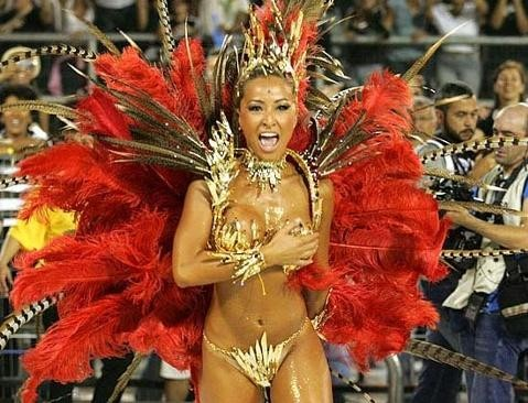 dancers at rio carnival nude