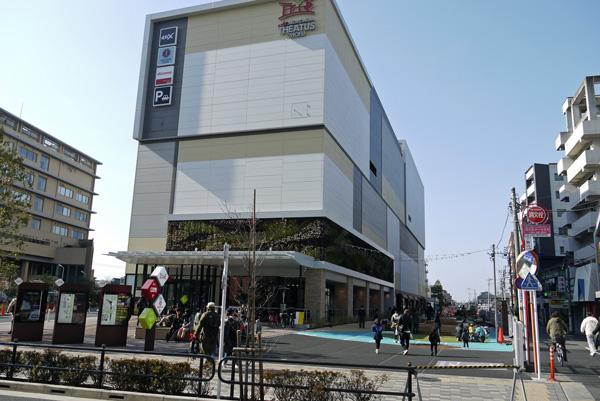 映画のまち調布 調布駅近くのシネコン「シアタス調布」