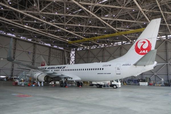 JAL(日本航空)工場見学「空育」SKY MUSEUMにて