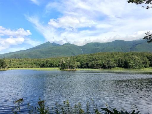 知床五湖、これも1湖からです。