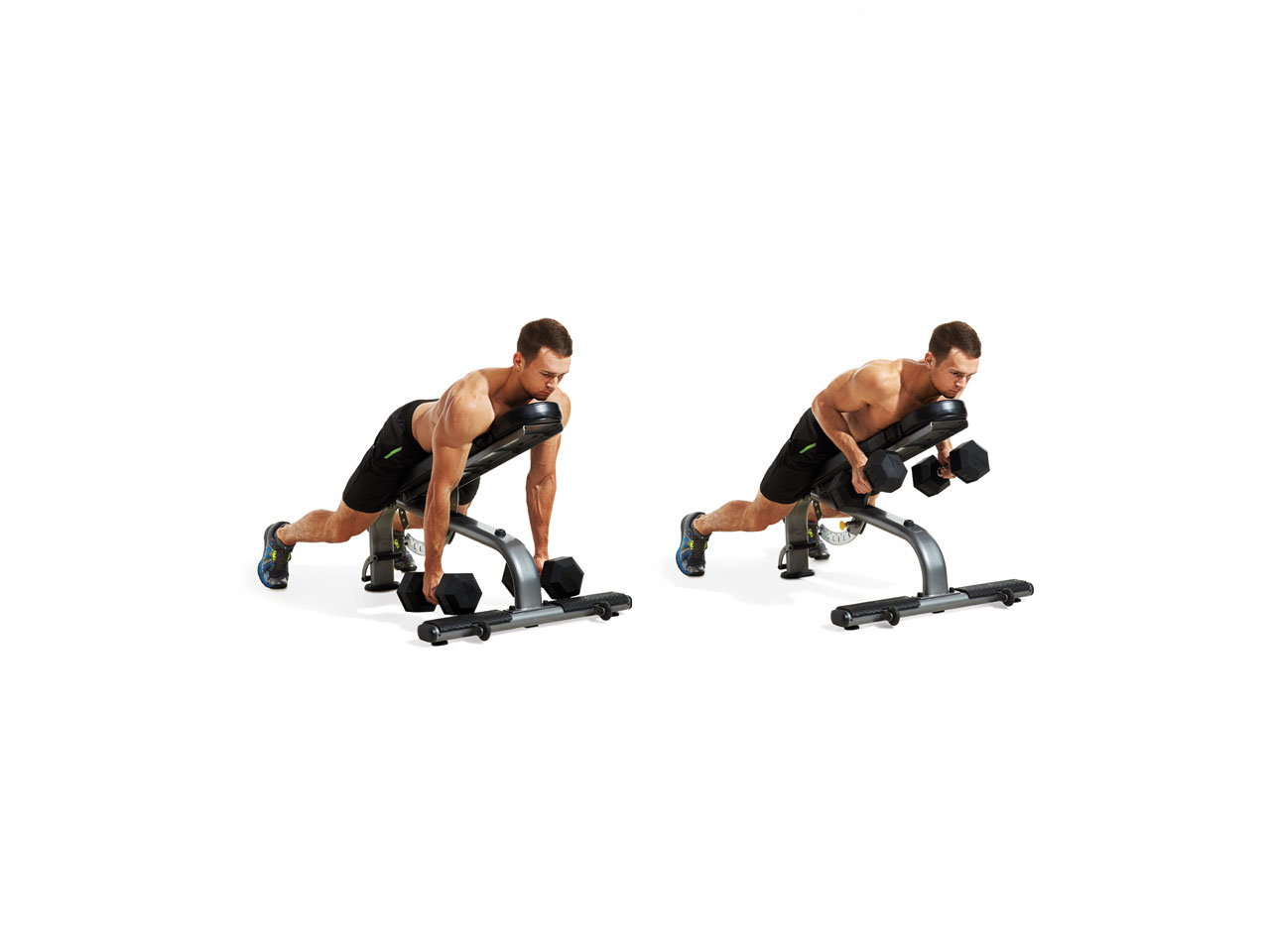 Incline Dumbbell Row Video