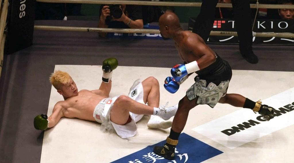 Floyd Mayweather, Jr. Just Made $9M for One Round Against Tenshin Nasukawa