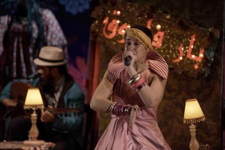 performer on stage metro al madina beirut