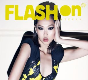 Kalamakeup makeup and hair for model Angie for Flash On Magazine, Hong Kong