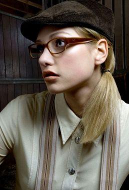 Kalamakeup makeup and hair styling for sunglasses campaign