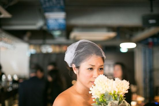 Kalamakeup for bride Florence's wedding at Icon Hotel, H.K.