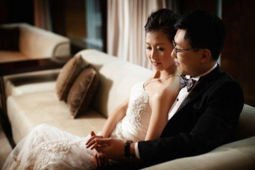 Kalamakeup for bride May's wedding at Harbor Front Hotel, H.K.