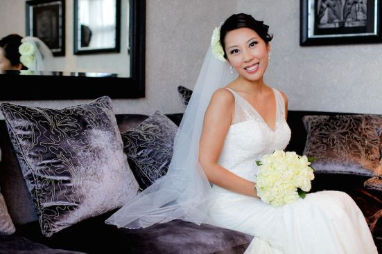 Kalamakeup for bride Rachael's wedding at Dragon I Hotel, New Castle, U.K.
