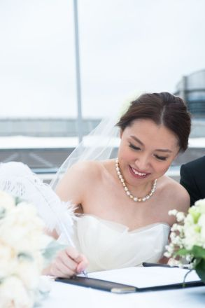 Kalamakeup for bride Sylvia's wedding at Shatin Hyatt Hotel, H.K.