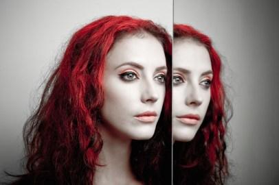Kalamakeup double image creative makeup