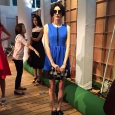 Kate Spade model at fashion show