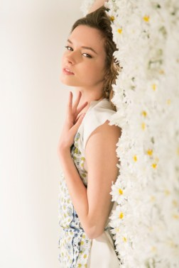 Kalamakeup makeup and hair styling service for Jeanne Pierre fashion shoot