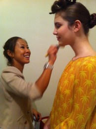 Kalamakeup makeup & hair styling for fashion shows for Fashion Walk