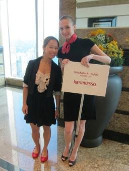 Kalamakeup makeup & hair styling for fashion shows for Shanghai Tang