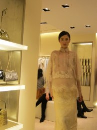 Kalamakeup fashion event for Valentino, fashion makeup and hair styling service