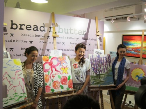 Kalamakeup fashion event for Bread and Butter, fashion makeup and hair styling service