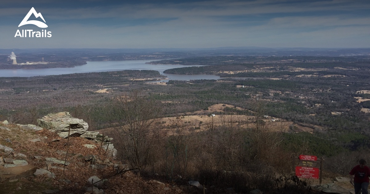 Best Trails In Mount Nebo State Park Arkansas 164