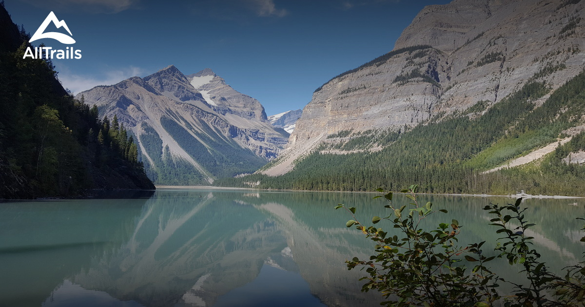 Best Trails In Mount Robson Provincial Park British