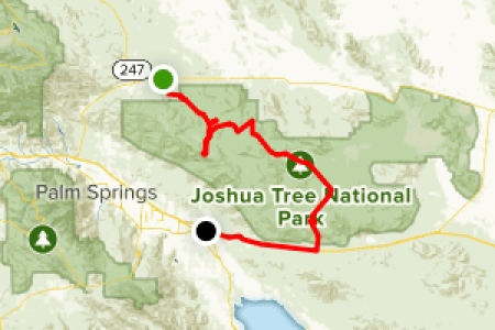 joshua tree national park hiking map » 4K Pictures | 4K Pictures ...