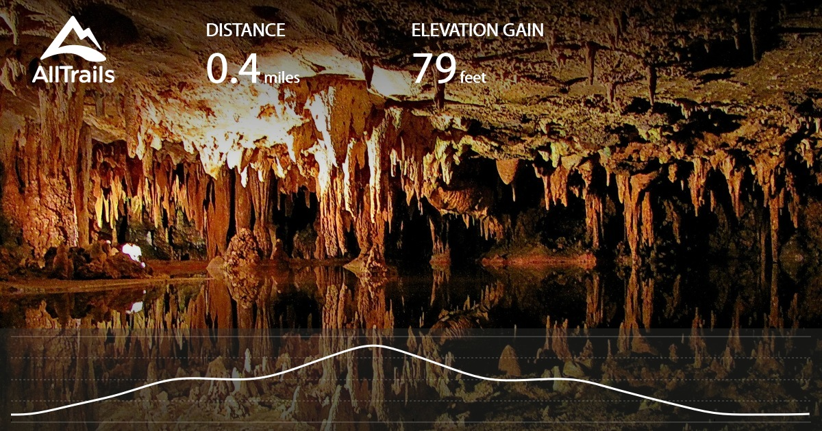 Caves Map - Us caves map