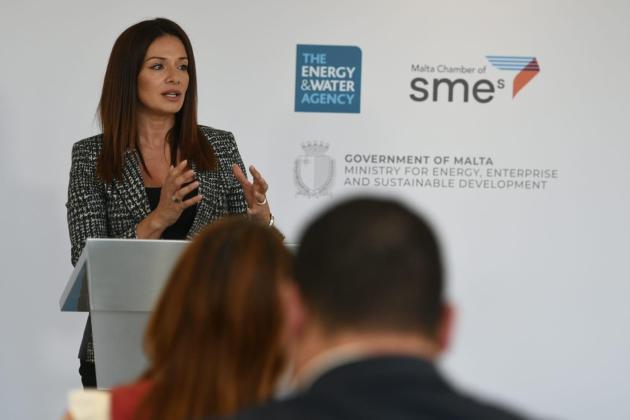 Energy Minister Miriam Dalli Photo: Jonathan Borg