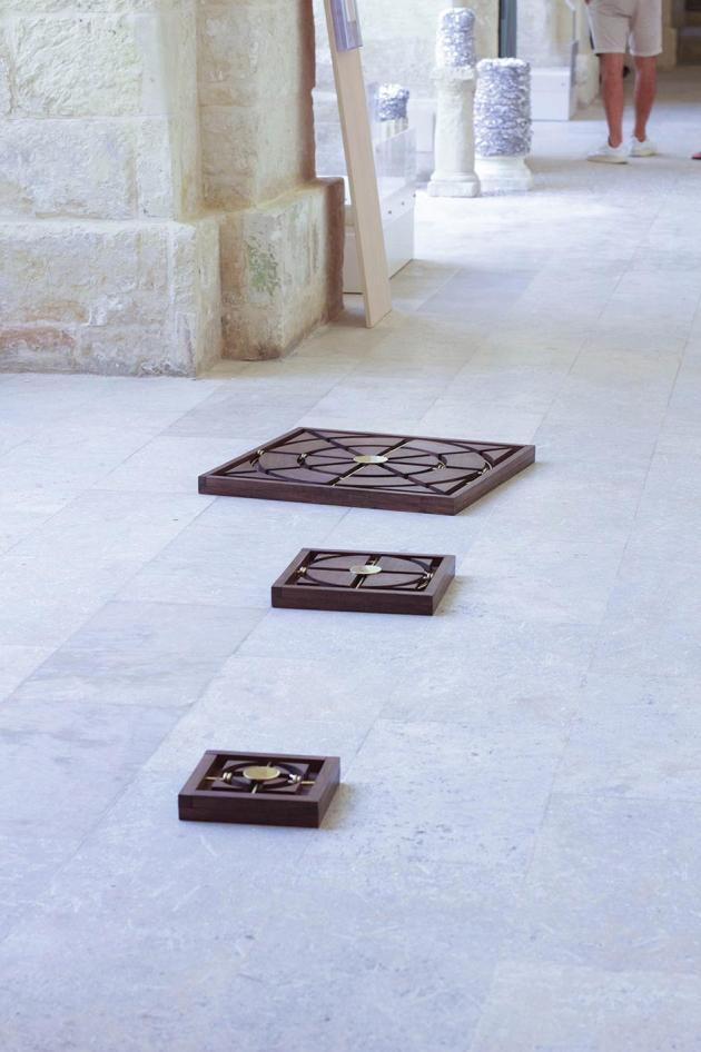 Floor Pieces by Aaron Bezzina