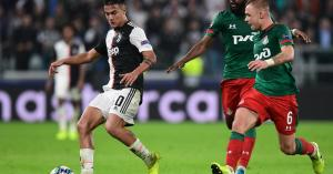 Watch: Dybala double rescues Juventus against Lokomotiv Moscow