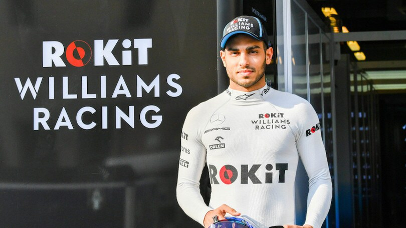 Williams Roy Nissany collaudatore ufficiale