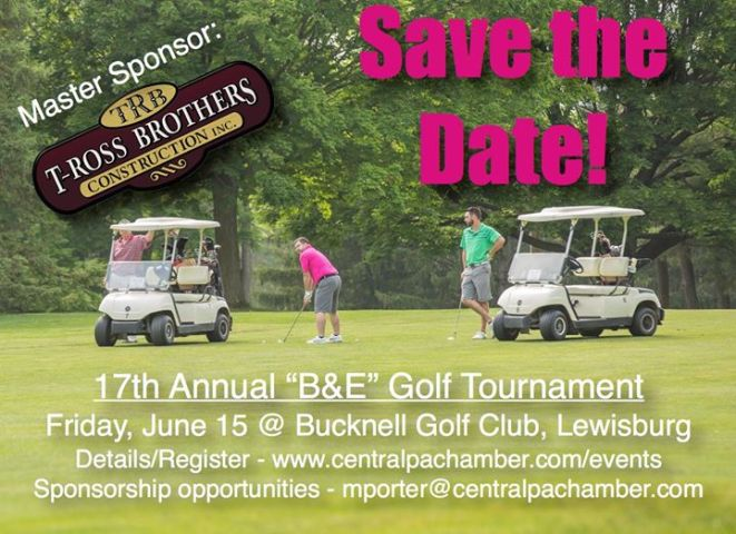 17th Annual B E Golf Tournament at Bucknell Golf Club  Lewisburg 17th Annual B E Golf Tournament