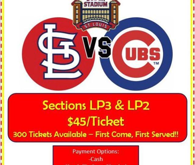 Cardinals Vs Cubs Tickets To Benefit Komen