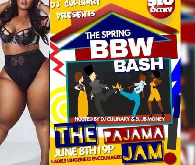 2018 Spring Bbw Bash The Pajama Jam At Knockouts Bar Lounge College Park
