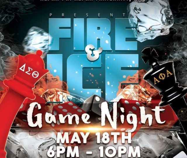 Fire And Ice Game Night