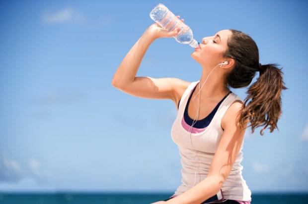Image result for drinking bottled water