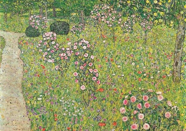 Frutteto con rose - Gustav Klimt 1912